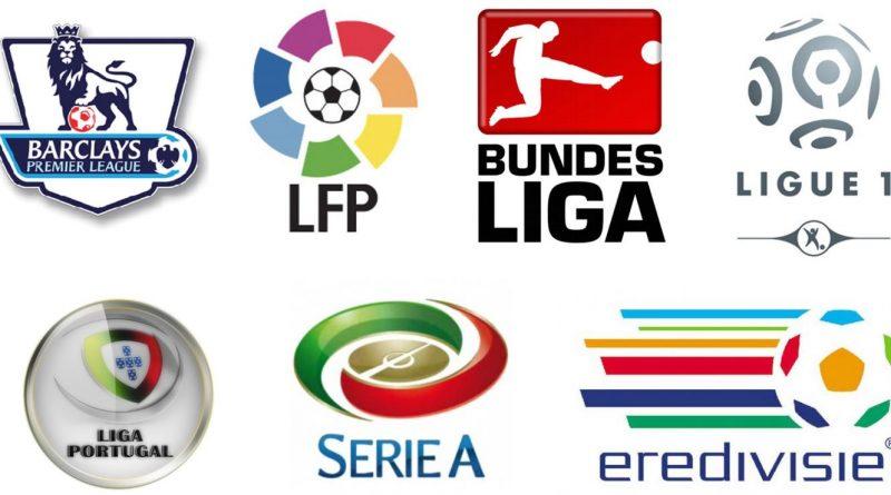 loga europejskich lig piłkarskich
