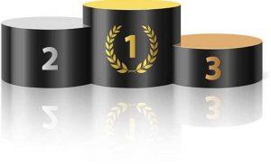 podium ranking bonusów