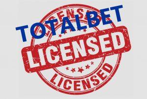 Licencja buukmacherska dla firmy Totalbet
