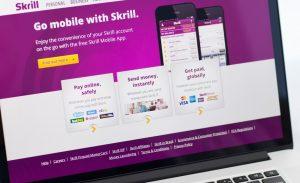 strona internetowa e-portmonetki Skrill