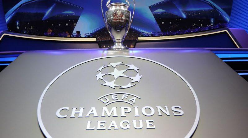 Logo Ligi Mistrzów i puchar