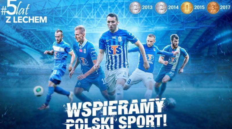 zdjęcie promocyjne STS i Lech Poznań
