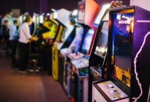 rząd automatów do gier