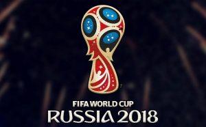 logo MŚ 2018 na ciemnym tle