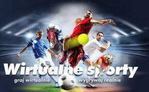 screen wirtualnych sportów w Milenium