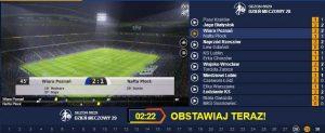 screen wirtualnych rozgrywek w STS