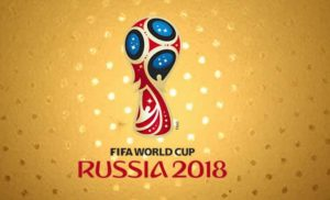 Logo MŚ 2018 do tekstu o bukmacherskich promocjach na mundial