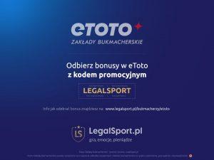 eToto oferuje bonus powitalny 2000 zł