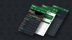 Legalny bukmacher TOTALbet - aplikacja mobilna