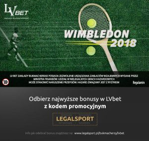 promocja na Wimbledon u legalnego buka LVbet