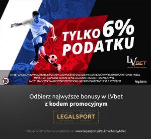 Promocja bukmachera LVbet na finały mundialu