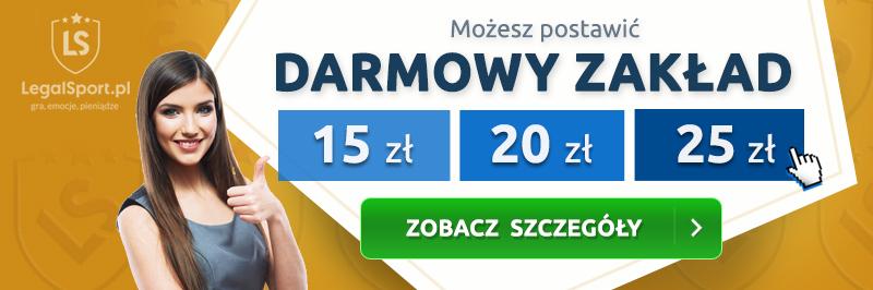 Freebety u legalnych polskich bukmacherów
