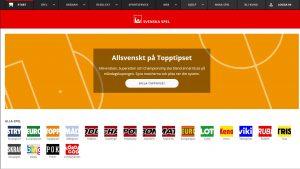 Svenska Spel to jeden z legalnych w Szwecji bukmacherów