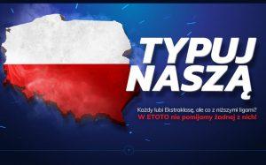 Zgarnij freebet 50 zł u legalnego bukmachera eToto