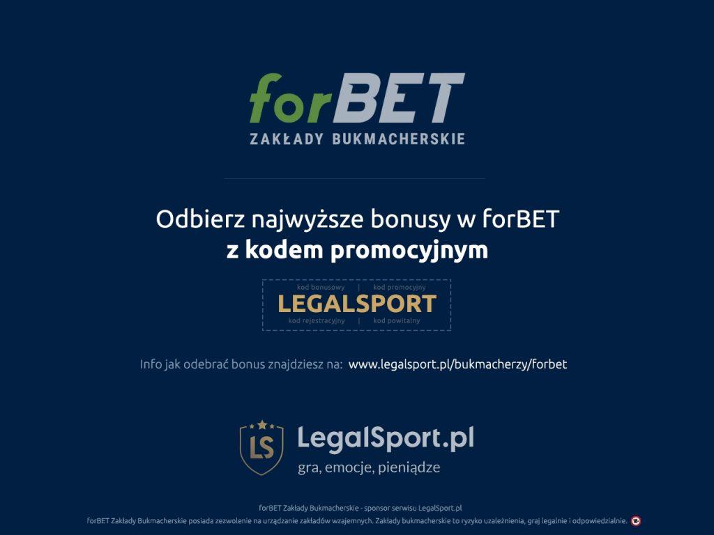 forBET - bonus na start z kodem rejestracyjnym