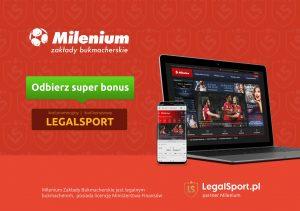 Rejestracja konta gracza u bukmachera Milenium